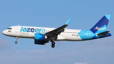 A picture of 9KCBD - Airbus A320251N - Jazeera Airways - © Dave Potter