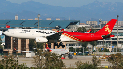 A picture of B1017 - Airbus A330343 - Shenzhen Airlines - © yiran