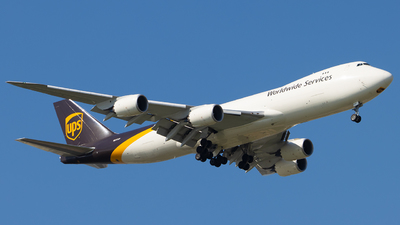 A picture of N617UP - Boeing 7478F - UPS Airlines - © Zongzha_Kaiguan