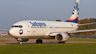 A picture of TCSUV - Boeing 73786N - SunExpress - © Hadi B.