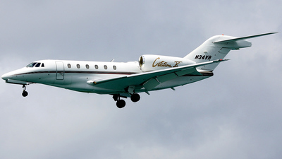 A picture of N34VR - Cessna 750 Citation X - [7500034] - © E.Wolff
