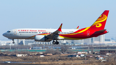 B-1387 - Boeing 737-8 MAX - Hainan Airlines