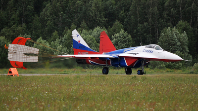 RF-91933 - Mikoyan-Gurevich MiG-29S Fulcrum C - Russia - Air Force
