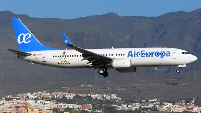 EC-LYR - Boeing 737-85P - Air Europa