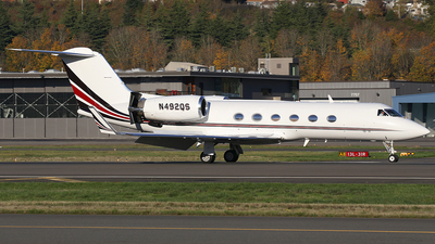 A picture of N492QS - Gulfstream IV - NetJets - © AviaStar Photography