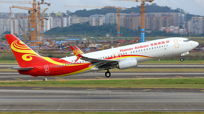 A picture of B1997 - Boeing 73784P - Hainan Airlines - © BCG554