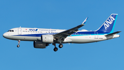 A picture of JA216A - Airbus A320271N - All Nippon Airways - © Yoshio Yamagishi
