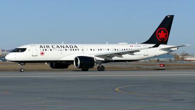 A picture of CGJYC - Airbus A220300 - Air Canada - © Craig L Baldwin