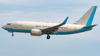 A picture of HL8222 - Boeing 73775B(BBJ) - Korean Air - © Michele Barban
