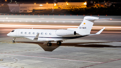 EC-MUS - Gulfstream G650 - Gestair Private Jets