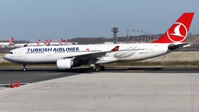 A picture of TCJIR - Airbus A330223 - Turkish Airlines - © Firat Cimenli