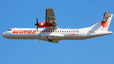PK-WHO - ATR 72-212A(600) - Wings Air
