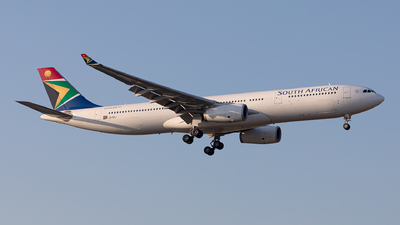ZS-SXJ - Airbus A330-343 - South African Airways