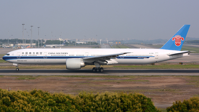 B-7185 - Boeing 777-31BER - China Southern Airlines