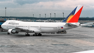 N4502R - Boeing 747-283B - Philippine Airlines