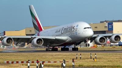 A6-EDK - Airbus A380-861 - Emirates