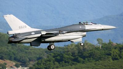 6628 - General Dynamics F-16AM Fighting Falcon - Taiwan - Air Force