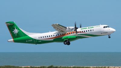 A picture of B17009 - ATR 72600 - UNI Air - © aviation_ken