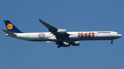 D-AIHZ - Airbus A340-642 - Lufthansa