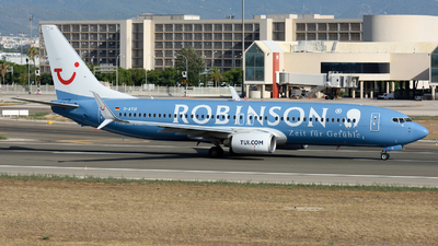 A picture of DATUI - Boeing 7378K5 - TUI fly - © Toni Marimon