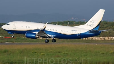 N444HE - Boeing 737-39A - Private