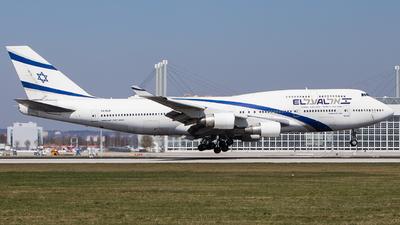 4X-ELB - Boeing 747-458 - El Al Israel Airlines