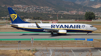 EI-FTL - Boeing 737-8AS - Ryanair