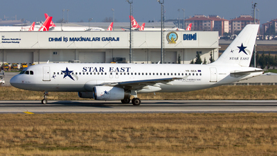 YR-SEA - Airbus A320-231 - Star East Airlines