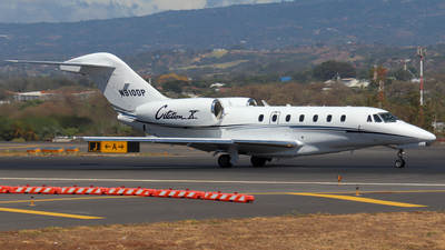 N910DP - Cessna 750 Citation X - Private