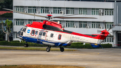 B-7961 - Eurocopter AS 332L Super Puma - China Offshore Helicopter Service Corporation (COHC)