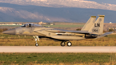 86-0164 - McDonnell Douglas F-15C Eagle - United States - US Air Force (USAF)
