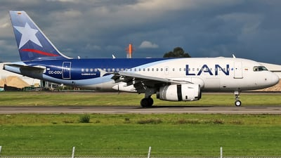 CC-COU - Airbus A319-132 - LAN Airlines