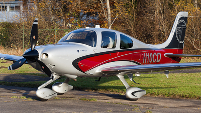 N10CD - Cirrus SR22-GTS Turbo - Private