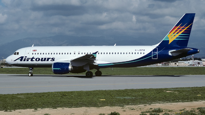 G-JDFW - Airbus A320-212 - Airtours International Airways