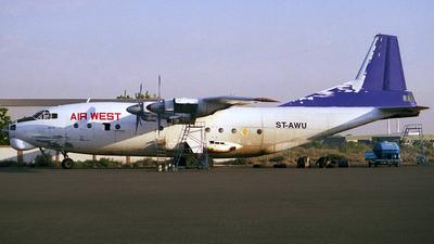 ST-AWU - Antonov An-12BK - Air West
