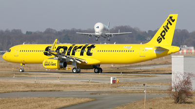 D-AYAW - Airbus A321-231 - Spirit Airlines