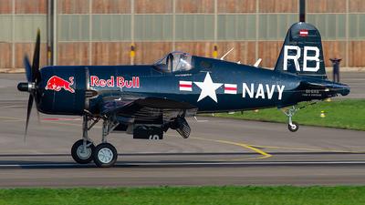 OE-EAS - Chance Vought F4U-4 Corsair - The Flying Bulls