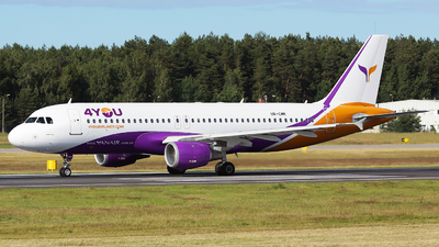 UR-CMK - Airbus A320-212 - 4You Airlines (YanAir)