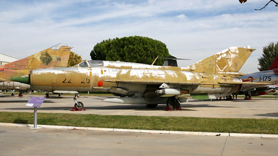 22-26 - Mikoyan-Gurevich MiG-21SPS Fishbed F - German Democratic Republic - Air Force