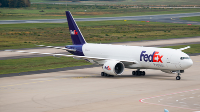 N847FD - Boeing 777-F - FedEx