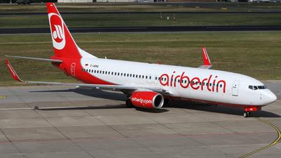 D-ABMQ - Boeing 737-86J - Air Berlin