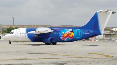 G-ZAPO - British Aerospace BAe 146-200(QC) - Titan Airways