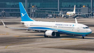 A picture of B7197 - Boeing 73785C - Xiamen Air - © Yan Shuai