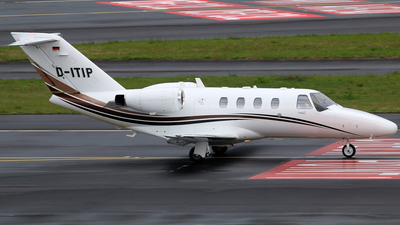 D-ITIP - Cessna 525 CitationJet 1 - Private