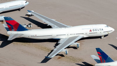 N676NW - Boeing 747-451 - Delta Air Lines