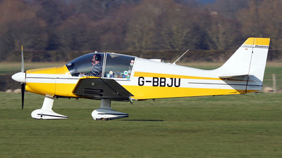 G-BBJU - Robin DR400/140B Major - Private