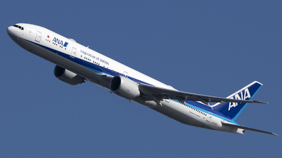 A picture of JA797A - Boeing 777300(ER) - All Nippon Airways - © Jose R. Ortiz