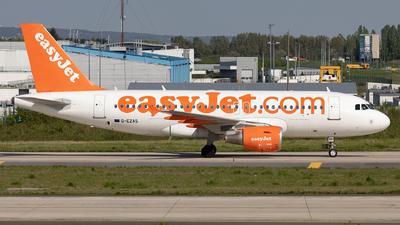 G-EZAS - Airbus A319-111 - easyJet
