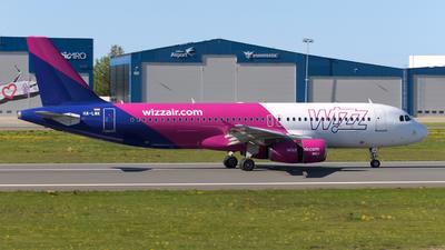 HA-LWK - Airbus A320-232 - Wizz Air