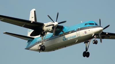 PH-KVD - Fokker 50 - KLM Cityhopper